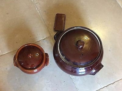 pottery casserole Dishes