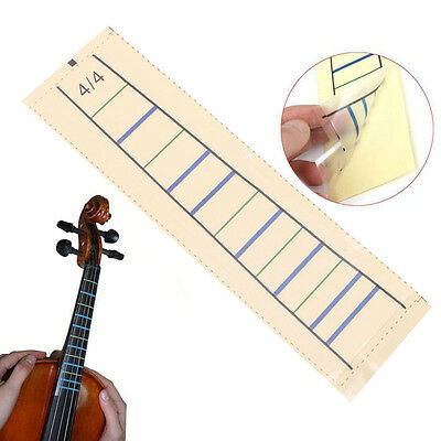 1Pc Violin Fretboard Sticker Tape Fiddle Fingerboard Chart Marker Finger For 4/4