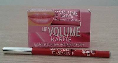 Karitè Lip Volume 10ml + Matita Trasparente