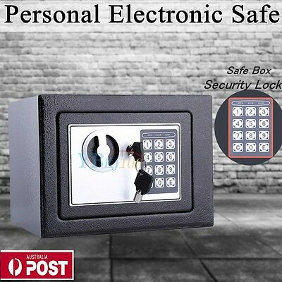 Personal digital Electronic Security Safe Box Access Keypad Safes Home Office