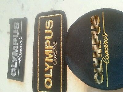 OLYMPUS camers sew on embroidered patches