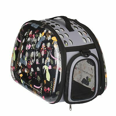 Stylish Foldable Pet Carrier Portable Comfort Soft Travel Bag For Cats and dogs
