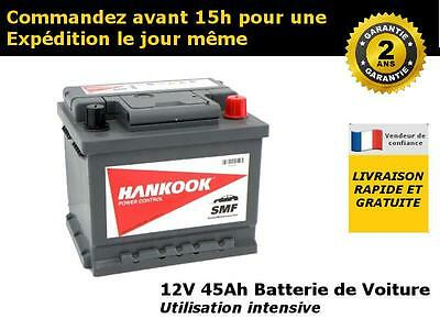 063 44Ah Batterie de Auto / Voiture - 12V 45Ah 450A - Indicateur de charge