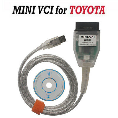 Latest Mini VCI Diagnostic Tool Cable Scanner for Toyota Lexus TIS Techstream