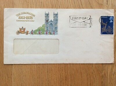 The Coronation First Day Cover 1953-1978 Commemorative Cover