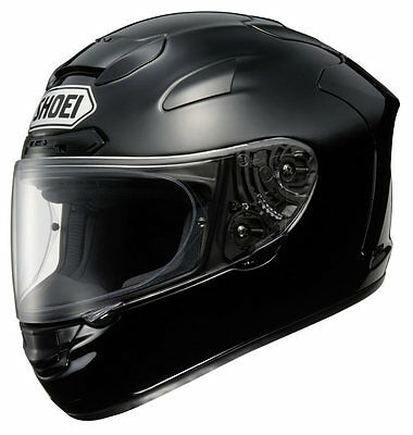 Shoei X-Spirit II 2 Motorcycle Helmet - Gloss Black