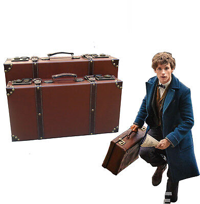 Fantastic Beasts Newt Scamander Magic Suitcase Harry Potter Cosplay Luggage Box