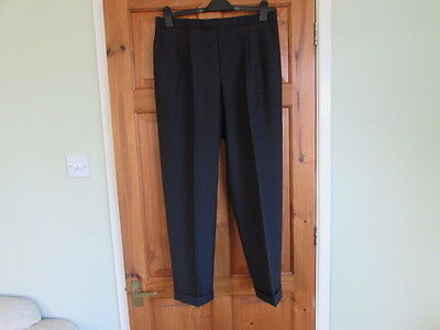 New Skopes northern soul / 50s twin pleated turn up trousers W 34 X L 29