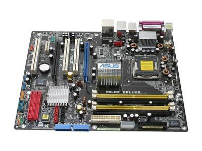 SCHEDA MADRE SOCKET 775_ASUS P5LD2 DELUXE+CPU P D DUAL CORE @3,20GHz/MAINBOARD