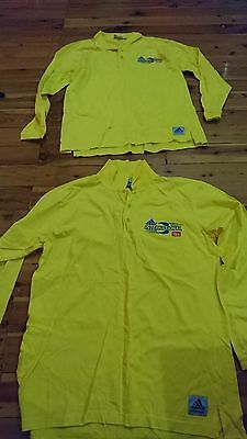 2 Adidas Uncle Toby's International Tops Size Small