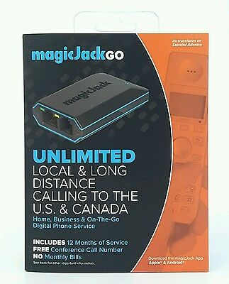 MagicJack Go Includes 12 Months of Service Magic Jack