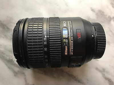 Nikon 24-120mm 3.5-5.6 G VR very good condition