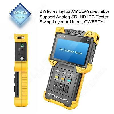 CCTV IPC+ Analog Camera 4.0 Inch Handheld HD Combine Tester Support 1080P RS485