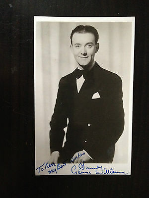 George Williams - Music Hall Comedian - Vintage Signed Photograph