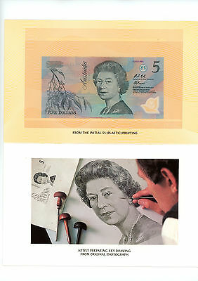 Australian Dollar Bank Notes in Presentation Unit, 1st Day of Issue, July, 1992