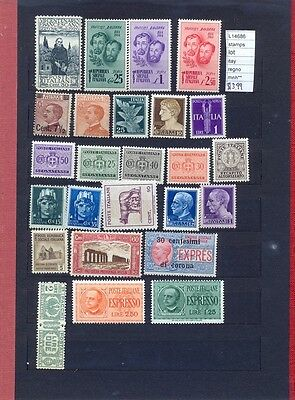 Stamps Lot  Italy Regno Mnh**  (L14686)