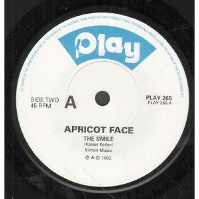 "SMILE Apricot Face 7"" VINYL UK Play 1992 B/W Why Should I (Play265)"