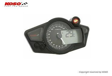 Koso RX1NR Race Track Bike Tacho Rev Counter Shift Light Kit Car