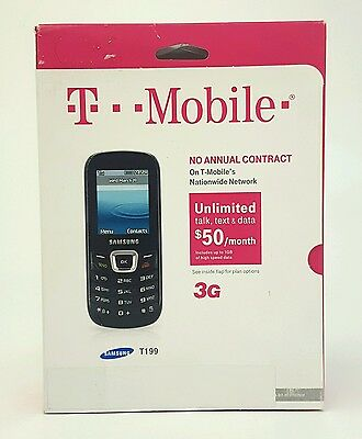 New T-Mobile Samsung T199 with SIM Card Tmobile