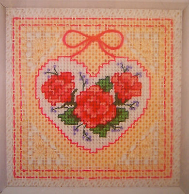 """Dimensions """"Roses in Lace"""" Needlepoint Kit NEW Craft Tapestry"""