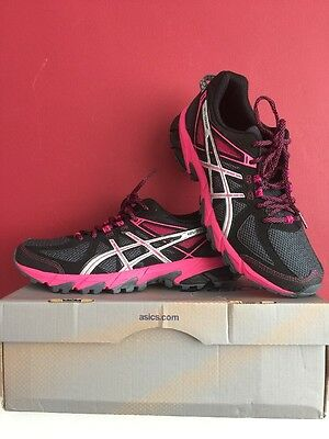 ASICS Gel Sonoma Womens Trail Running Shoes, UK Size 8 BRAND NEW WITH BOX