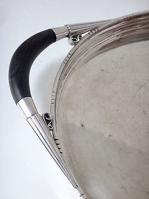 Georg Jensen & Johan Rohde, sterling silver tray for set Cosmos n° 251B