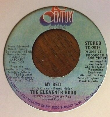 "The Eleventh Hour - So Good / My Bed 7"" TC-2076 US IMPORT (VG Condition)"