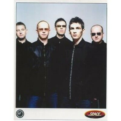 SPACE (LATE 90'S GROUP) Full Colour Promo PHOTOGRAPH UK Gut Approx 26 X 20 Cm