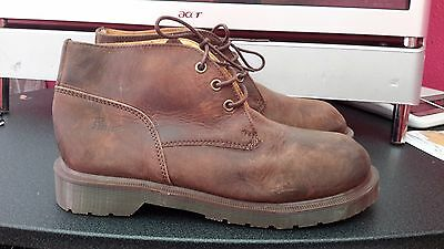 Dr Martens men's size 7 M brown leather oxford lace up