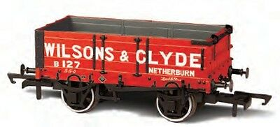 Oxford OR76MW4003 Güterwagen 4 plank 127 Wilsons & Clyde Spur 00
