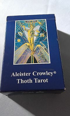 Brand New Pack Of Aleister Crowley Thoth Tarot Cards, Absolutely Stunning!!
