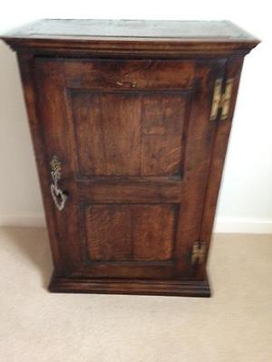 Georgian 18th century Oak 'Apothecary' Free Standing Cupboard