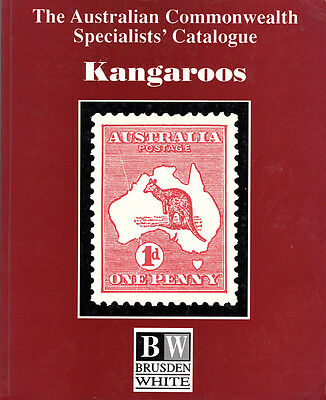 Kangaroos:Sections 1 and 2 of the Australian Commonwealth Specialists' Catalogue