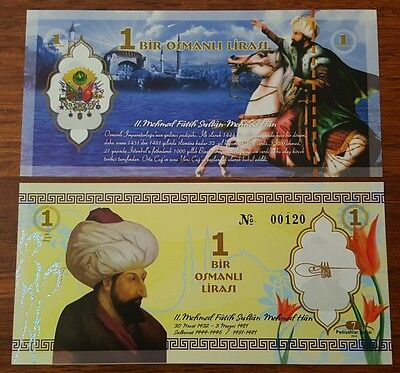 Sultans of the Ottoman Empire series 10 different series-UNC - 2016