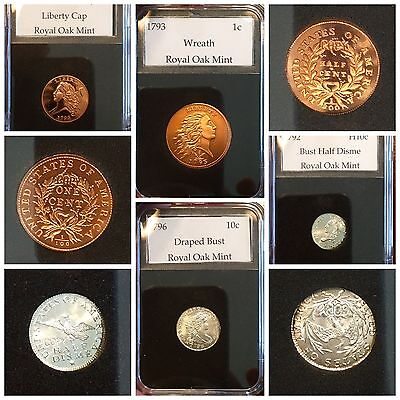 Royal Oak Mint & Gallery Mint Museum 8 Coin Collection