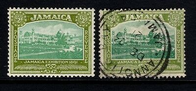 Jamaica: 1919/21 KGV - Pictorial SG78- 1/2d - LHM & Fine used