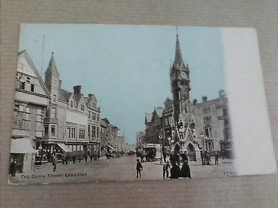 The Clock Tower, Leicester Vintage Postcard Unposted