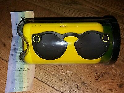 Brand New Unopened Snapchat Spectacles Years Warranty Black