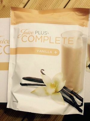 Juice Plus Complete Vanilla Shakes x2 New Sealed Pouches