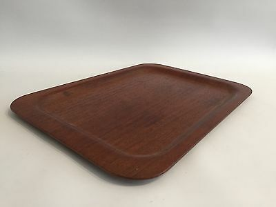 Teak Tablett Plywood Tray Lamina Norway 50s 60s Design Modern 60er 70er +++