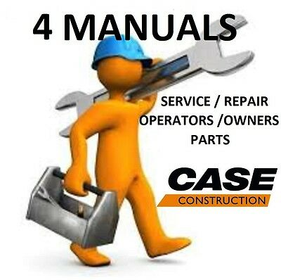 CASE 60XT Skid Steer 4 Manuals Operators Parts Service Engine Repair PDF Manual