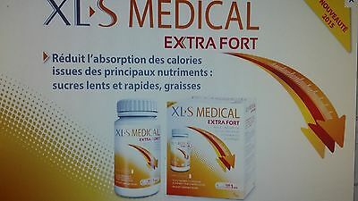 Lot de 2 boites XLS Medical Extra Fort 120 comprimés