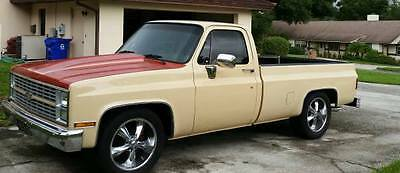 1984 Chevrolet C-10 Custom 1984 C-10 completely redone 454 and Air Conditioner