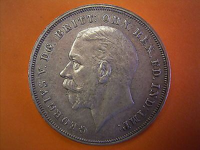 1935 King George V Silver Jubilee Commemorative Issue Milled Silver Crown