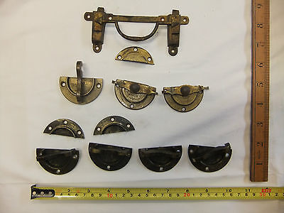 Collection of Original / Vintage / Victorian Furniture / Table Catches and Clips