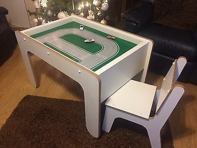 Children's Lego Designer Table And Chairs