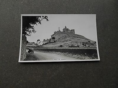 Postcard ROCK of CASHEL - CO. TIPPERARY IRELAND RP by CARDALL LTD