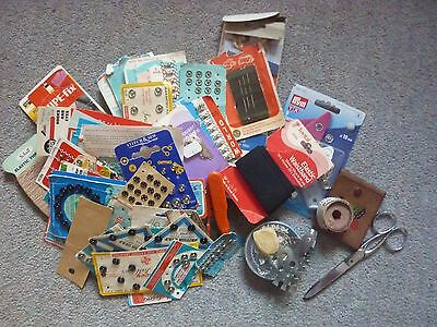 Job Lot Of Vintage Sewing / Knitting Items