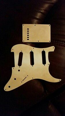 Fender Stratocaster relic  Scratch plate  pickguard and tremolo cover back plate