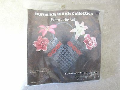 Burgundy Hill Kit collection - Elbow Basket - How To Make an Elbow Basket Kit